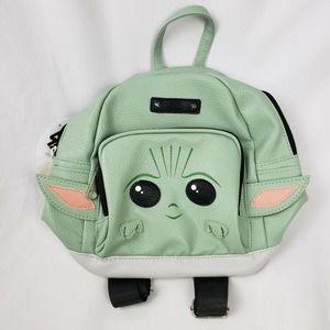 Star Wars Baby Yoda Kids Mini Backpack Green NWT